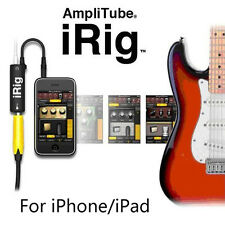 New AmpliTube iRig Interface Guitar Adapter for iPad iPhone iPod Touch