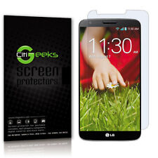 CitiGeeks® Google LG G2 Screen Protector Crystal Clear HD Film VS980 [3-Pack]
