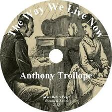The Way We Live Now, Anthony Trollope Audiobook English Fiction on 31 Audio CDs