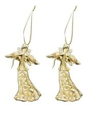Heavenly Angel Christmas Ornments Set of 2