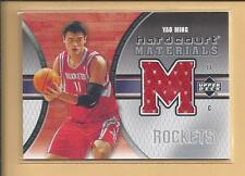 * 2005 UD hardcourt Shooting Shirt,  YAO MING  no.HM-YM  rockets