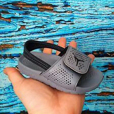 Nike Boys Jordan HYDRO 5 BT Cool Grey Sandals Size 8