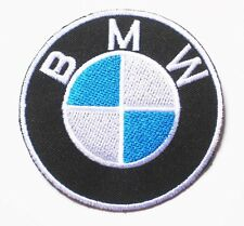 BMW Logo MOTOR AUTO Logo Classic embroidered Badge Patch 7.5x7.5 cm