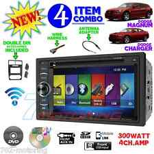 "05 06 07 DODGE MAGNUM CHARGER 6.2"" TOUCHSCREEN CD DVD BLUETOOTH CAR RADIO STEREO"