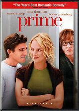 PRIME The MOVIE on a DVD with MERYL STREEP and UMA THURMAN in ROMANTIC COMEDY of
