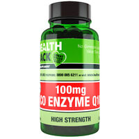 Co Enzyme Q10 Supplement 100mg | 30 Capsules | Increase Energy Levels