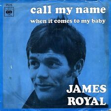 James Royal 45 Call My Name - Northern Soul French Release - HEAR