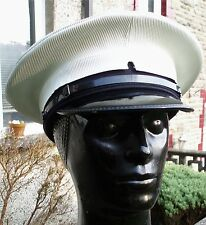 59 L ROYAL NAVY PETTY OFFICERS Peaked CAP/HAT Military Visor RN Uniform Dress