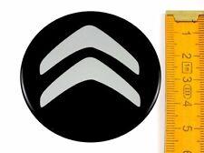 CITROËN ★ 4 Stück ★ SILIKON Ø55mm Aufkleber Emblem Felgenaufkleber Radkappen