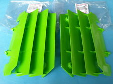 1994-2005 Green OEM Radiator Guards Screens Kawasaki KX125 KX250 KX 125 KX 250