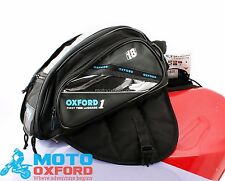 OXFORD MOTORCYCLE TANK BAG MAGNETIC 18L LUGGAGE TRAVEL RIDE BEST BUY STRAP ON