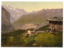 Wengern Alp Bernese Oberland A4 Photo Print