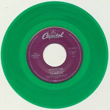 """Beatles 45 single COLORED Vinyl """"Nowhere Man"""" b/w """"What Goes On"""" Juke Box Only"""