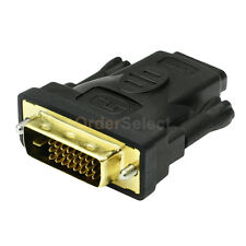 Fenzer DVI Male to HDMI M-F 1.4 Adapter Converter For 1080p 2160p 3D TV HDTV LCD