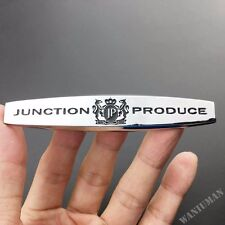 1 Pair Luxury Metal JP Junction Produce Side Emblem Car VIP Badge Decal Sticker