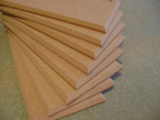 "10 X  8"" x 4""  MDF WOODEN  PLAQUES CHAMFERED EDGE WITH HOLES"