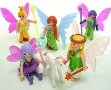 PLAYMOBIL 5 Fairies Elf Elves Fairy FIGURE Magic UNICORNO pixie bosco FAE PIXY