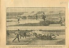 WWI Poilus Tranchées Soldats Chemin des Dames Aisne France War 1917 ILLUSTRATION