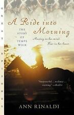 A Ride into Morning: The Story of Tempe Wick, Rinaldi, Ann, Good Book