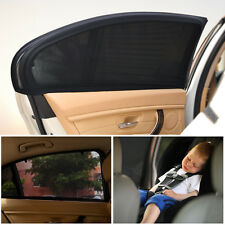 1pair Car Truck Window Shade Cover Windshield Sun Shade Curtain Breathable Mesh