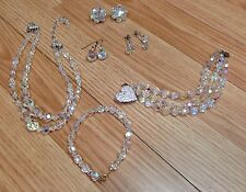 Vintage Sarah Coventry, Judy Lee +Unnamed Costume Jewelry Necklace Earring Sets