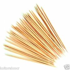 50X WOODEN COCKTAIL TOOTHPICKS CHERRY OLIVES STICKS