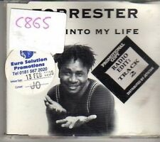 (CM320) Forrester, Come Into My Life - 1995 DJ CD