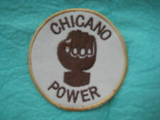 "Chicano Power  Viva La Raza  Patch 3 "" X 3"" """
