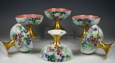 SET OF 6 HAND PAINTED  PUNCH CUPS