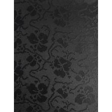 10 A4 CARD TAPESTRY BLACK BRODERIE DESIGN FLORAL EMBOSSED 300GSM CARDSTOCK