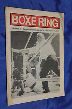 rivista pugilato Boxe - BOXE RING - Anno 1974 Numero 1