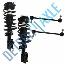 Both (2) Front Complete Strut Assemblies + (2) Sway Bar Links Chevy Saturn SUV's