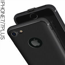 "For ""Apple iPhone 6/6S"" Candy Slim Soft Silicone Matte Back Case Cover - Black"