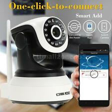Wireless WiFi HD 720P Home CCTV Security Network IP Camera 2-way Audio P/T L4T9