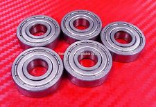 [QTY 5] S608ZZ (8x22x7 mm) 440c Stainless Steel Ball Bearing Bearings 608ZZ