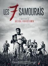 Seven Samurai  Style F Movie Poster 13x19 inches