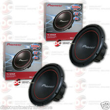 "BRAND NEW 2 x PIONEER TS-W304R 12"" 12-INCH 4 OHM CAR AUDIO SUBWOOFERS"