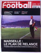 France Football du 3/04/2001; Marseille le plan de relance/ Landreau, Heurtebis
