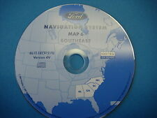 Ford Navigation CD Map 6 Southeast   2005 2006 Escape Hybrid Expedition