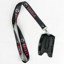 Agents of shield S.H.I.E.L.D. ID Card Holder Lanyard Neck Strap Document ID-D487