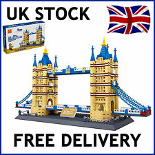 TOWER BRIDGE OF LONDON ARCHITECTURE BUILDING BLOCKS BRICKS 1033 PCS COMPATIBLE