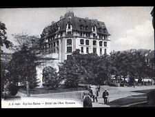 AIX-LES-BAINS (73) PORTEUR de CHAISE à l'HOTEL DE L'ARC ROMAIN animé
