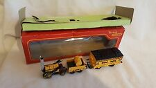 TRIANG R346 STEPHENSON'S ROCKET & COACH EXCELLENT BOXED