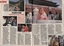 Coupure de presse Clipping 1990 Dorothée   (2 pages)