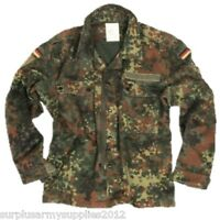 GERMAN ARMY FLECKTARN SHIRT VINTAGE FESTIVAL JACKET PAINTBALLING AIRSOFT FISHING