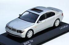 Minichamps BMW 7er Limousine E65 Bj. 2001-2005, M. 1:43, titansilber-metallic