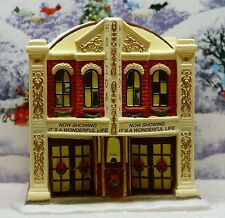 "ST NICHOLAS SQUARE VILLAGE COLLECTION ""HOLIDAY THEATER"" ***ORG BOX***EX COND"