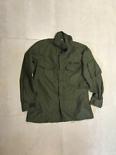 vietnam flyers shirt  nomex , used  , medium short1971, front flap pocket