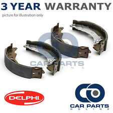 REAR DELPHI LOCKHEED BRAKE SHOES FOR SUZUKI ALTO IGNIS WAGON R R+ (2000-2008)