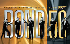 Bond 50: Celebrating Five Decades of Bond 007 Blu-ray 23-Disc Set w/ Skyfall NEW